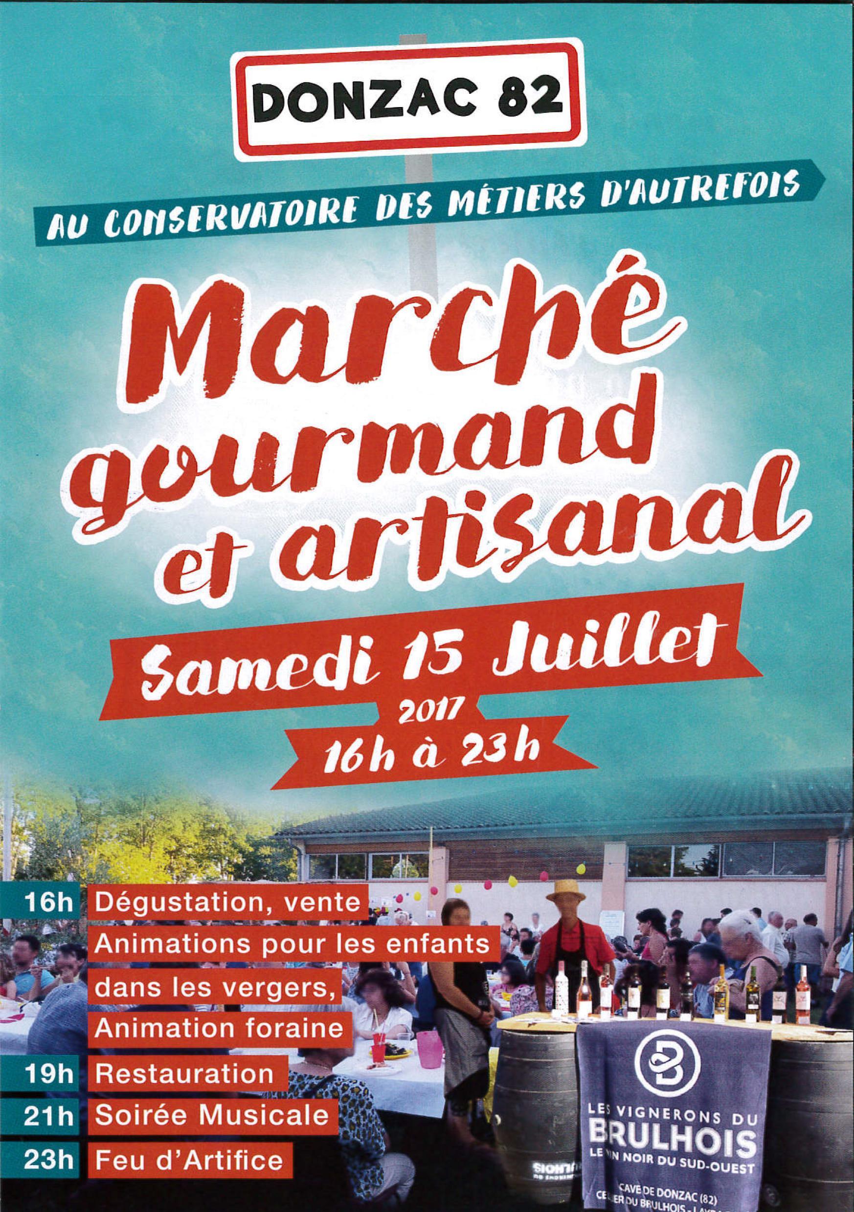 Etude De Marche Artisan Electricien marchÉ gourmand - mairie de donzac