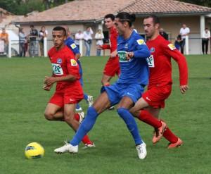 Mathieu Marie et Jamal Kharbouch, les deux buteurs du match.
